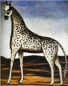 Girafe de Pirosmani