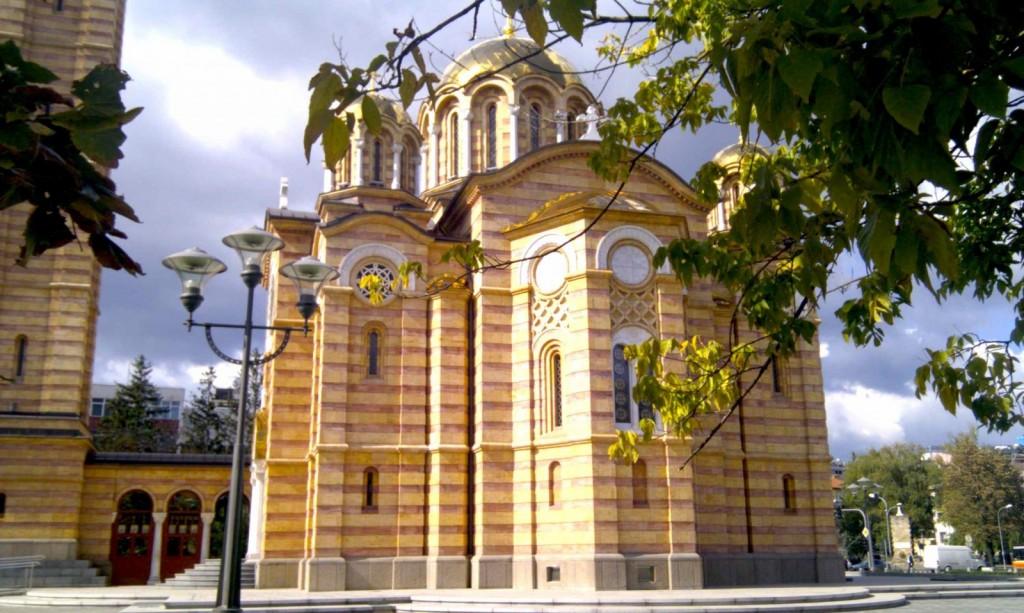 Eglise du Christ Sauveur Banja Luka en Bosnie et Herzégovine