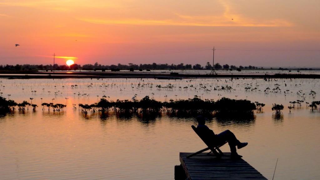Kubalan au petit matin Casamance