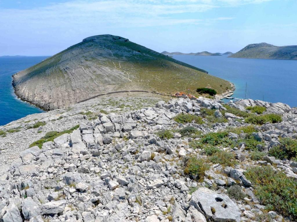 Les Îles Kornati en Croatie