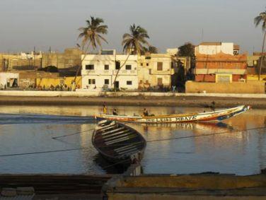 La mer à Saint-Louis du Sénégal